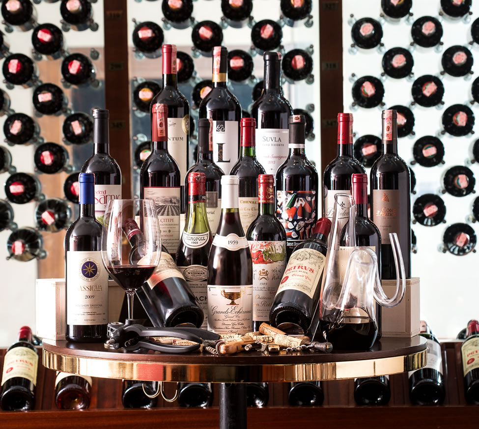 We Boast With Our Wine Cellar